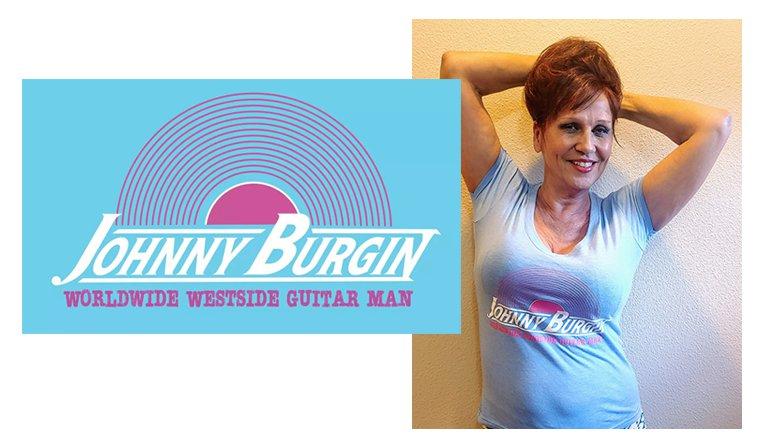 Johnny Burgin Ladies Tshirt